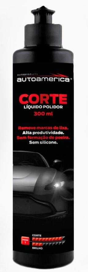LÍQUIDO POLIDOR AUTOAMÉRICA 300ML