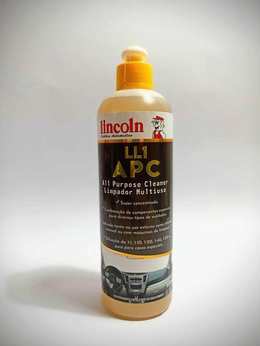 LL1 500 APC LIMPADOR MULTIUSO LINCOLN - 500ML