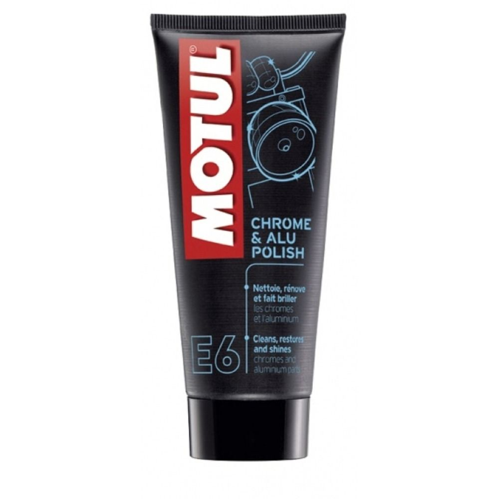 MOTUL E6 CHROME E ALU POLISH 100ML