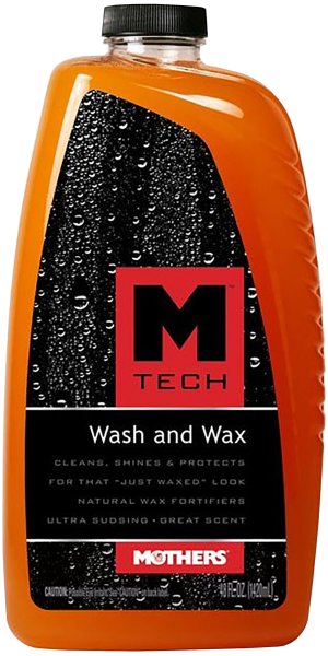 MTECH WASH & WAX - SHAMPOO C/ CERA MOTHERS 1420 ML