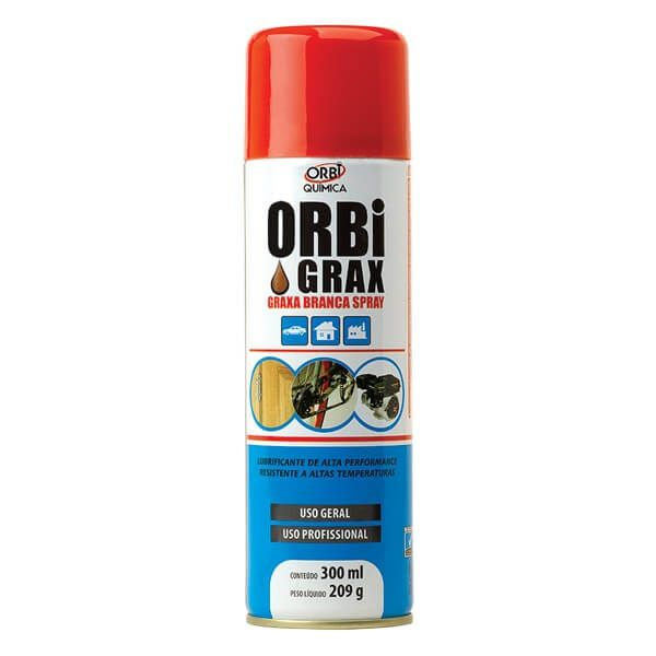 ORBIGRAX GRAXA BRANCA 300ml/209G