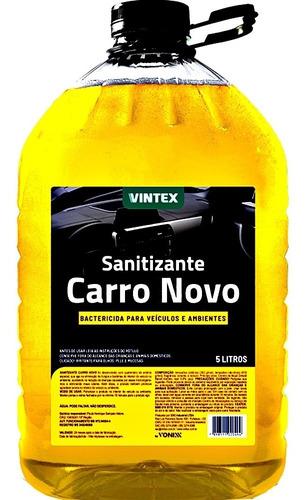 SANITIZANTE CARRO NOVO 5L