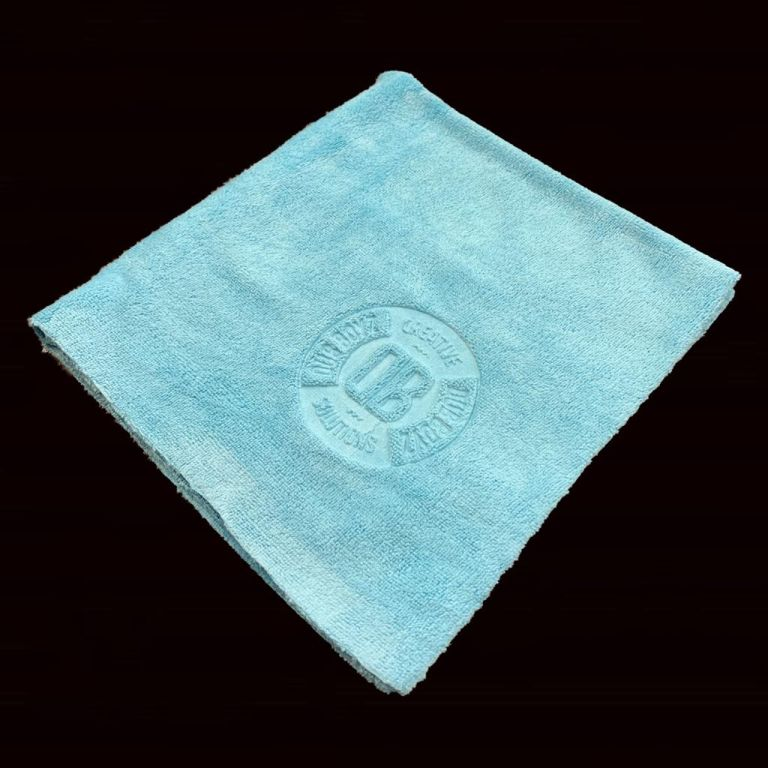 Toalha de microfibra - Db Towel - 350 GSM 40X40 (Azul)