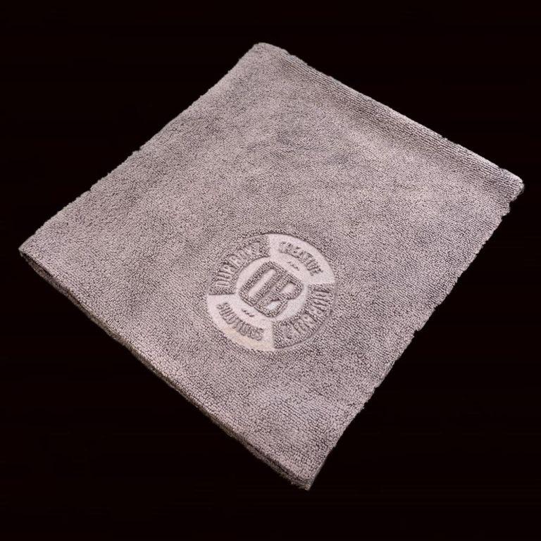 Toalha de microfibra - Db Towel - 350 GSM 40X40 (Cinza)