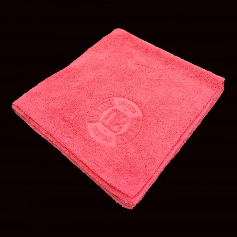 Toalha de microfibra - Db Towel - 350 GSM 40X40 (Rosa)