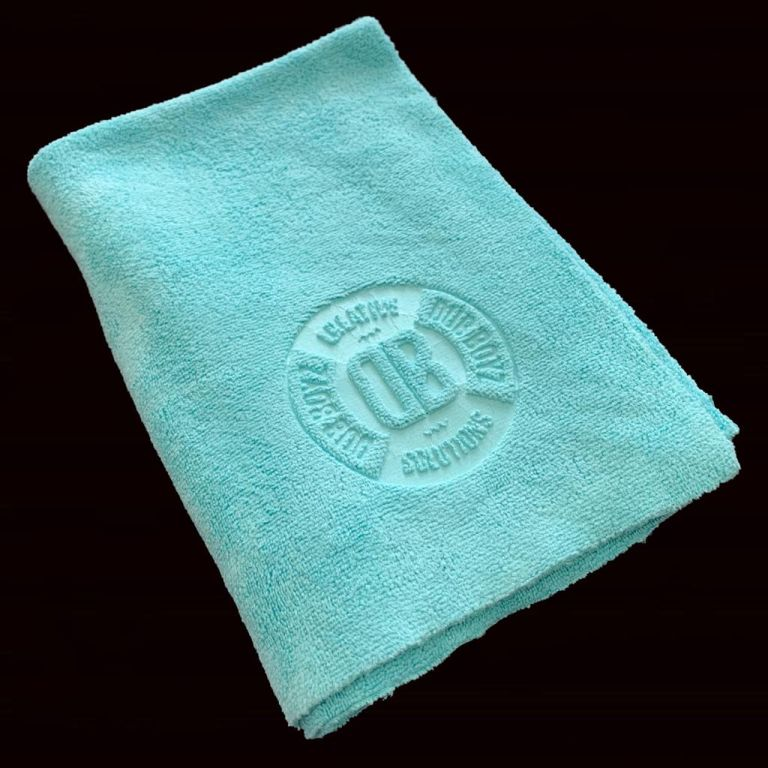 Toalha de microfibra - Db Towel - 400 GSM 40X60 (VERDE)
