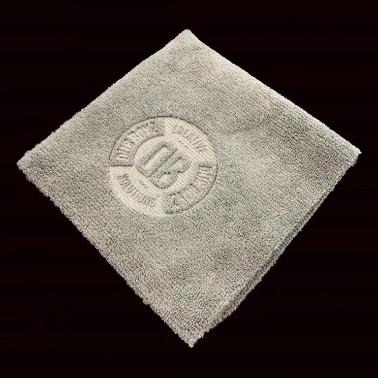 Toalha de microfibra - Db Towel 'Coat' 300 GSM 30X30 (Cinza)