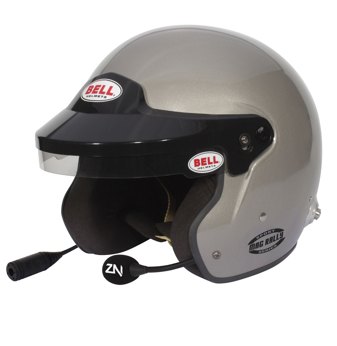 Capacete bell Mag Rally Titânio