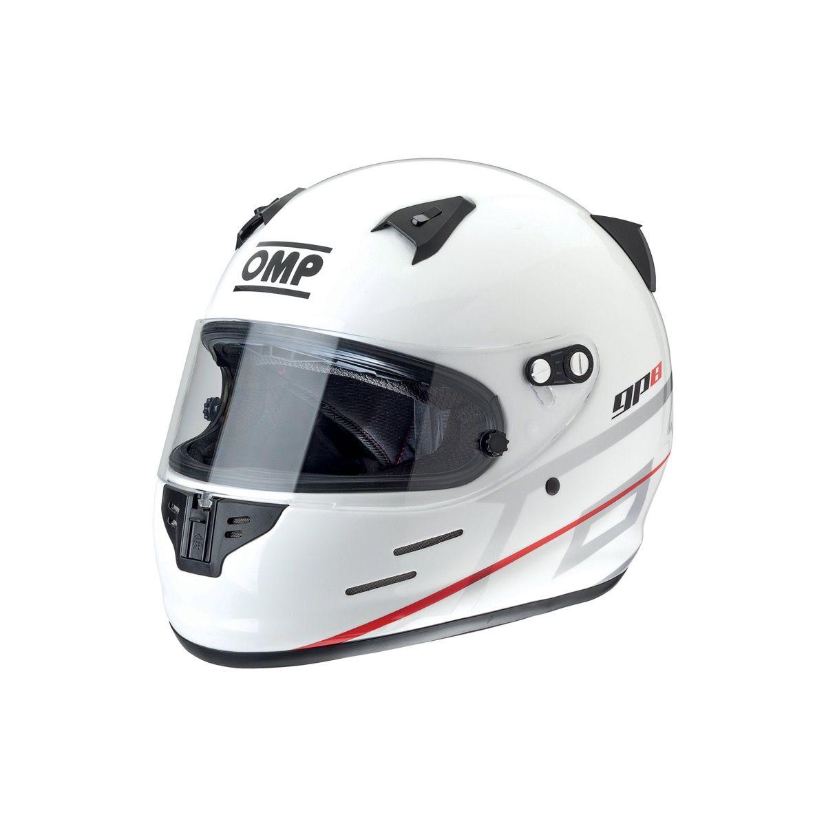 Capacete Racing GP 8K EVO OMP