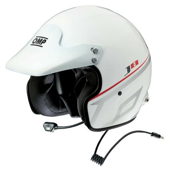 Capacete Racing J-R Intercom OMP