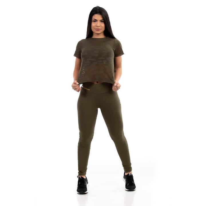 Blusa Feminina Military