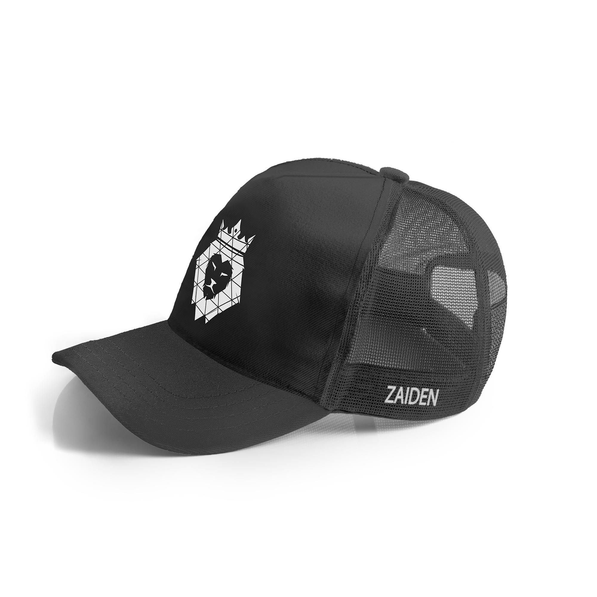 Boné Zaiden Trucker Black Lion