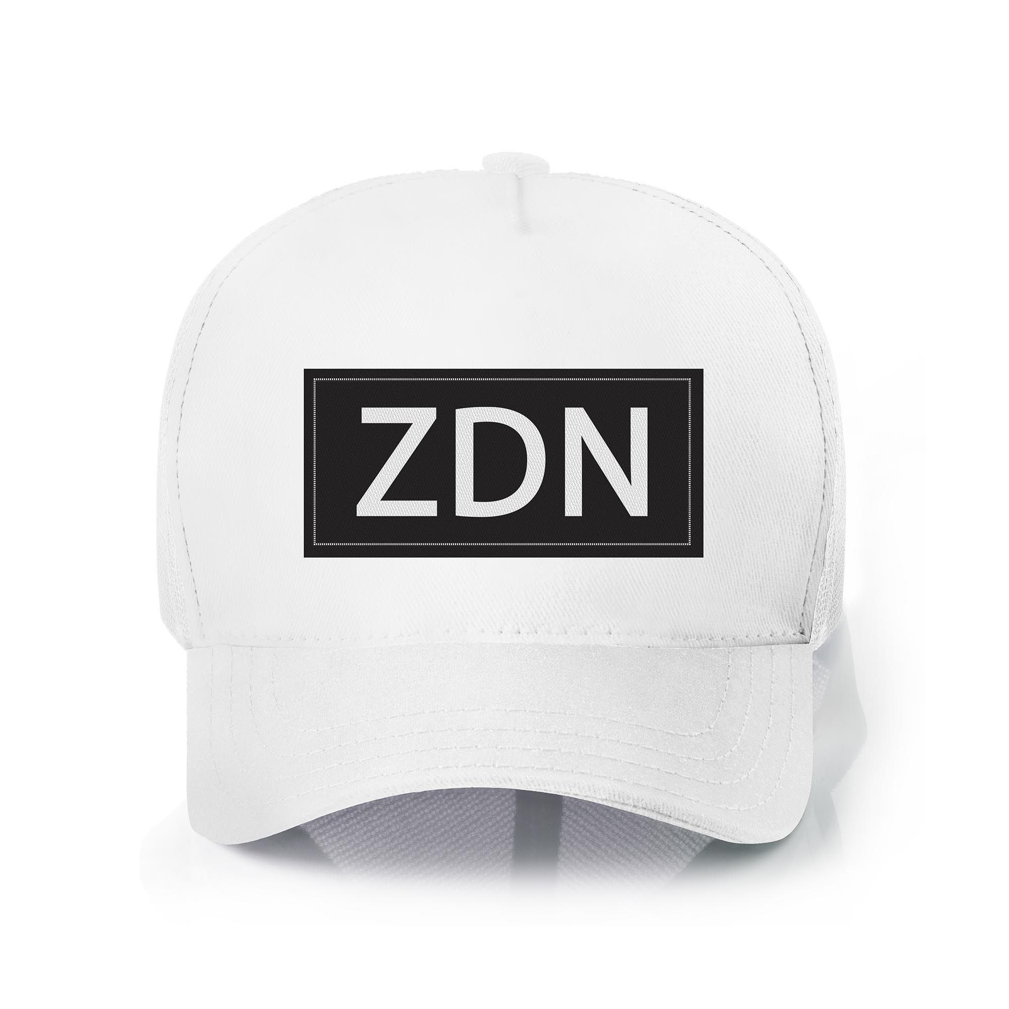 Boné Zaiden Trucker ZDN White