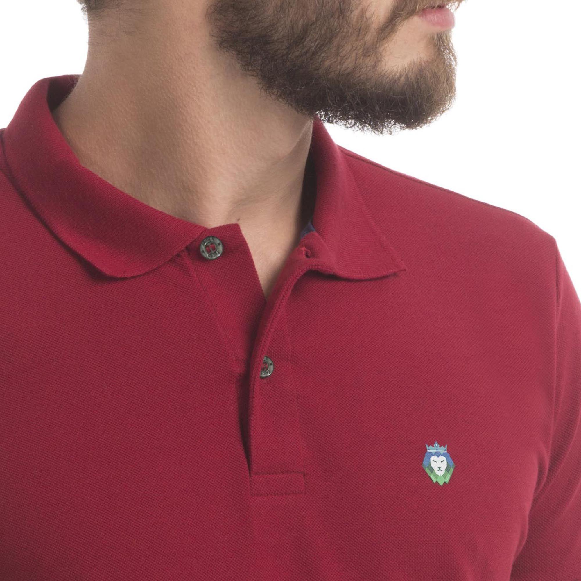 Camisa Polo Piquet Zaiden Style Masculina