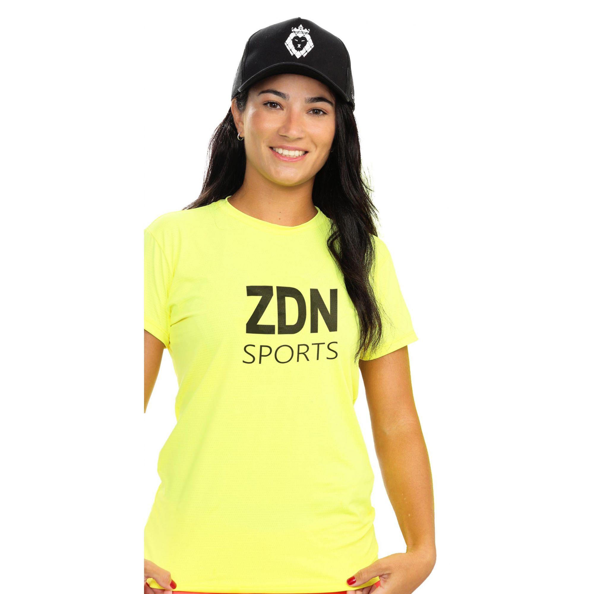 Camiseta Feminina Poliamida Isla ZDN Preto