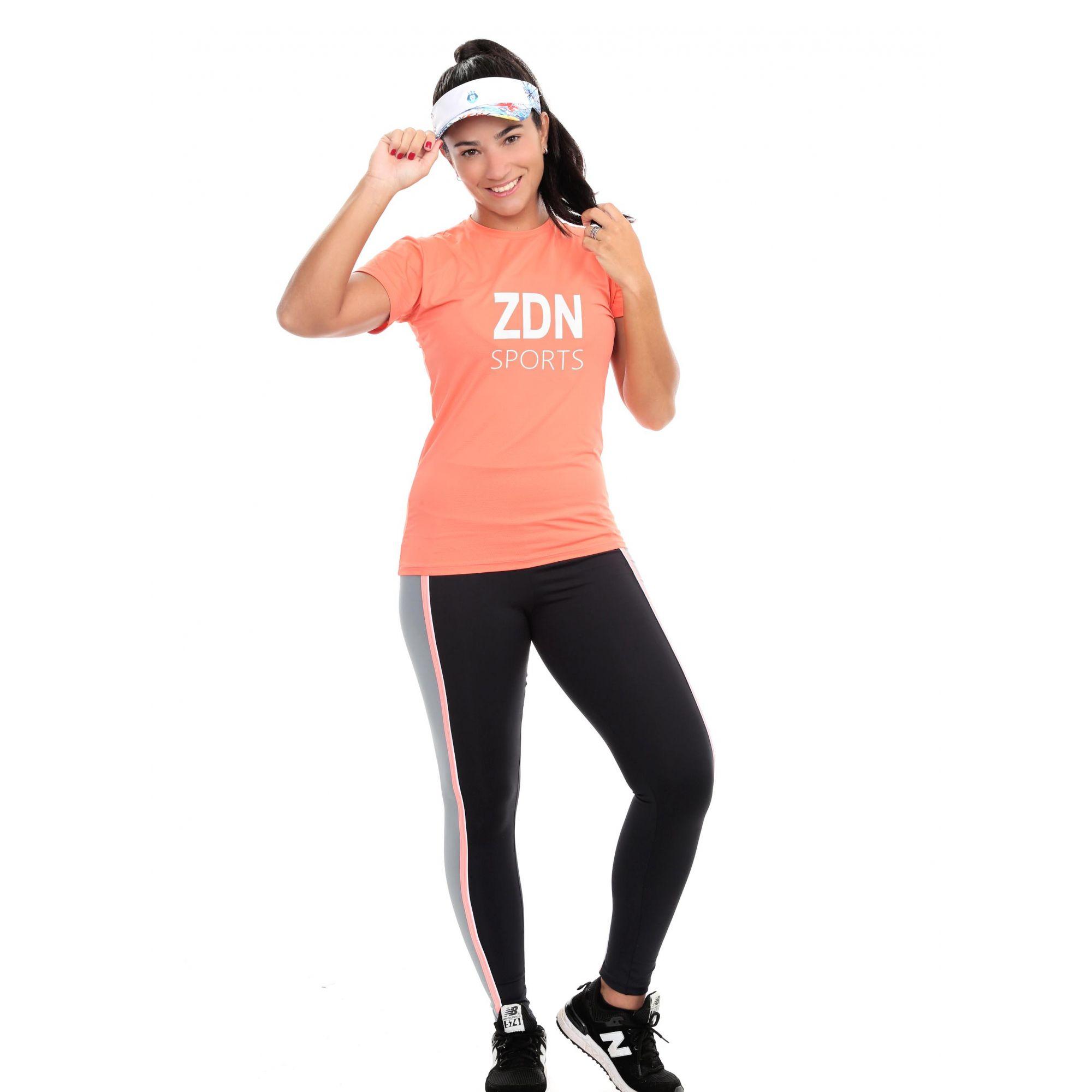 Camiseta Feminina Poliamida Rambla ZDN Branco