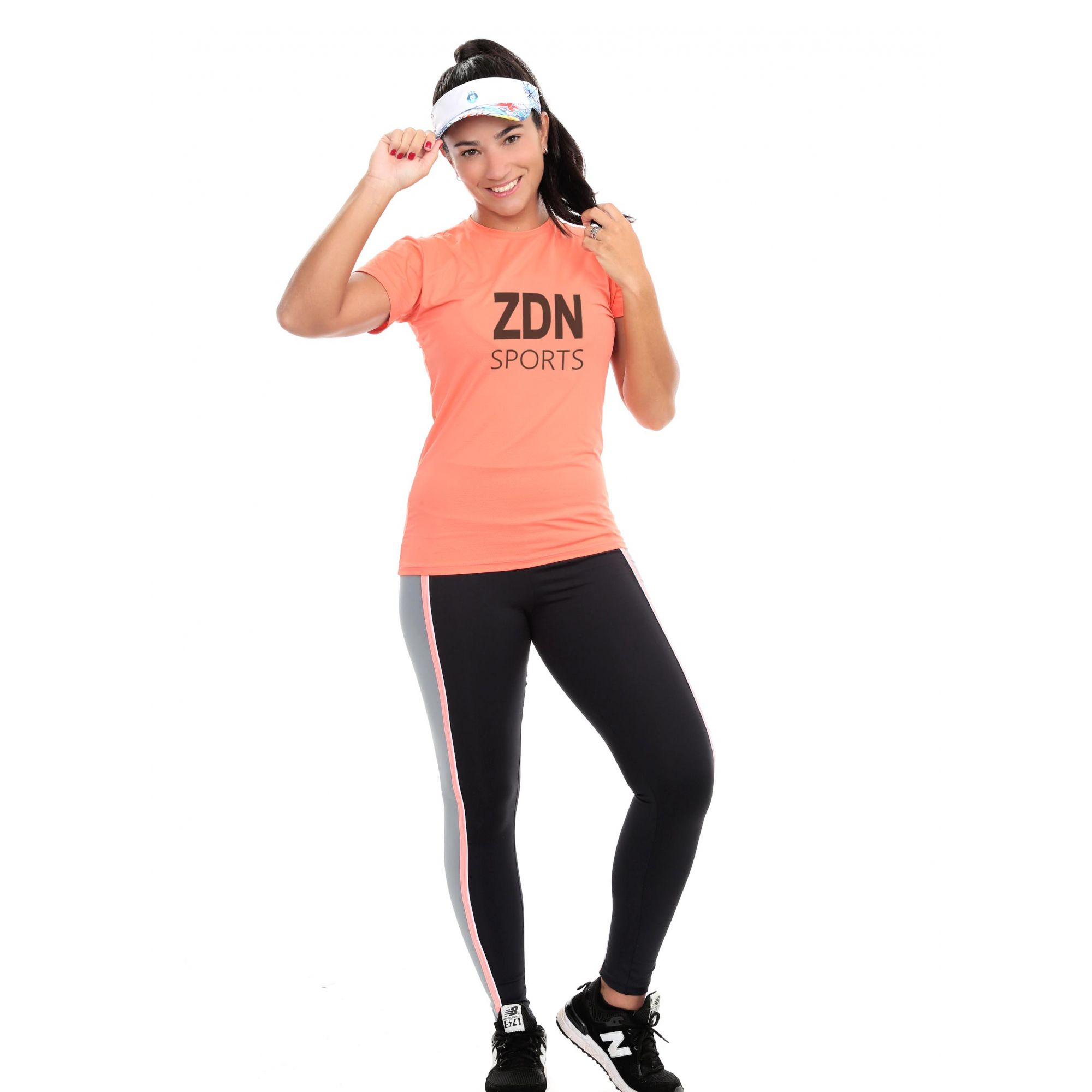 Camiseta Feminina Poliamida Rambla ZDN Preto