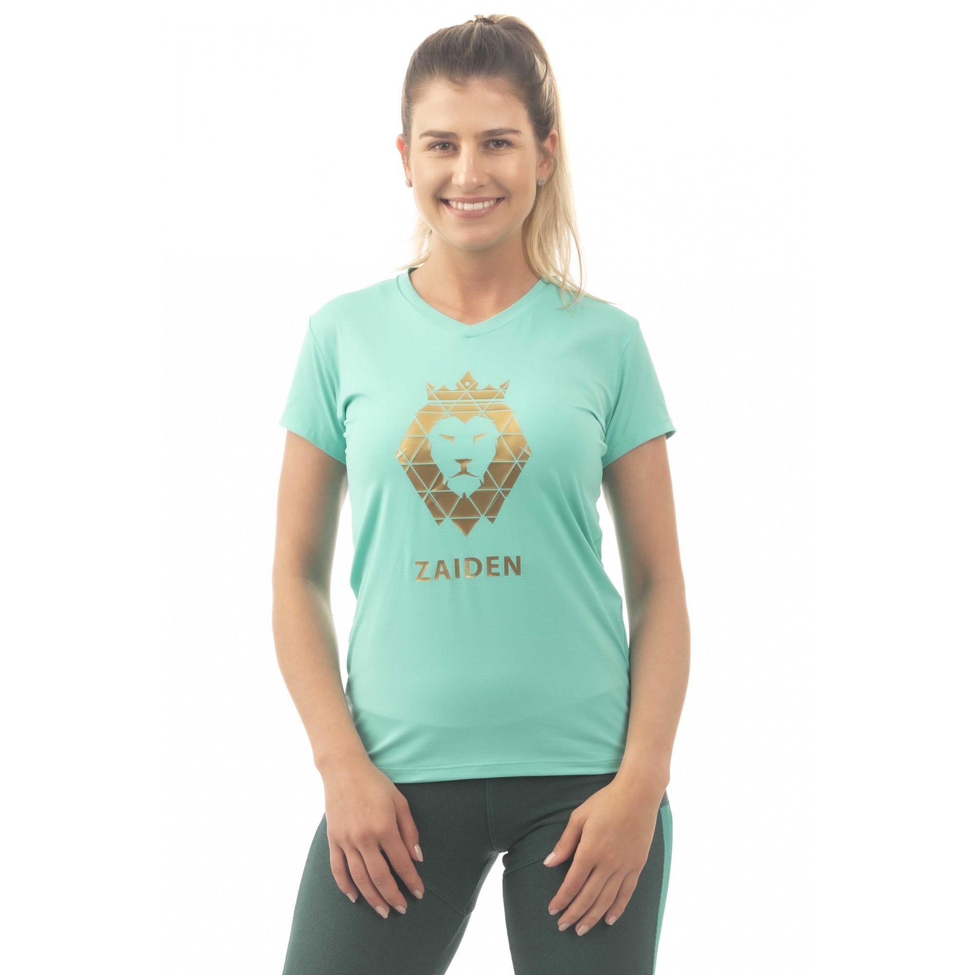Camiseta Feminina Poliamida ZAIDEN Ocean