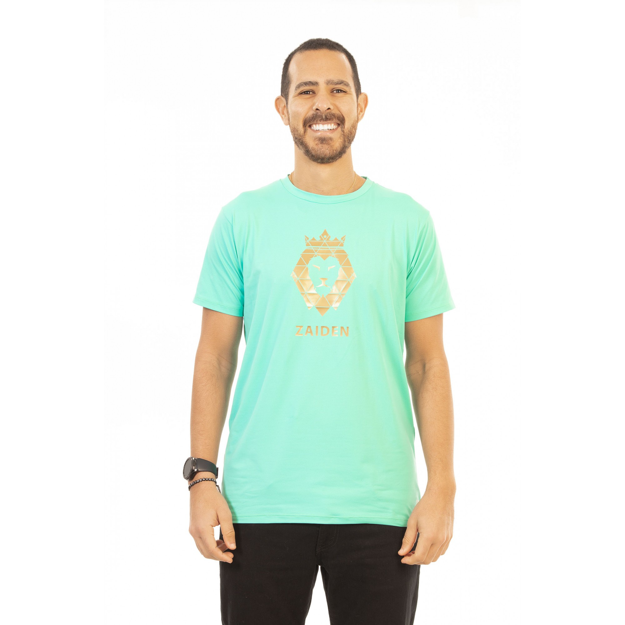 Camiseta Masculina Poliamida ZAIDEN Ocean