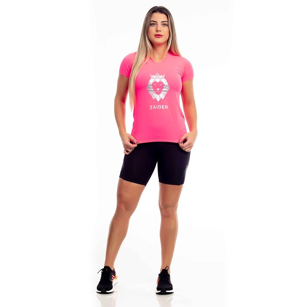 Camiseta Feminina Poliamida Plug Zaiden