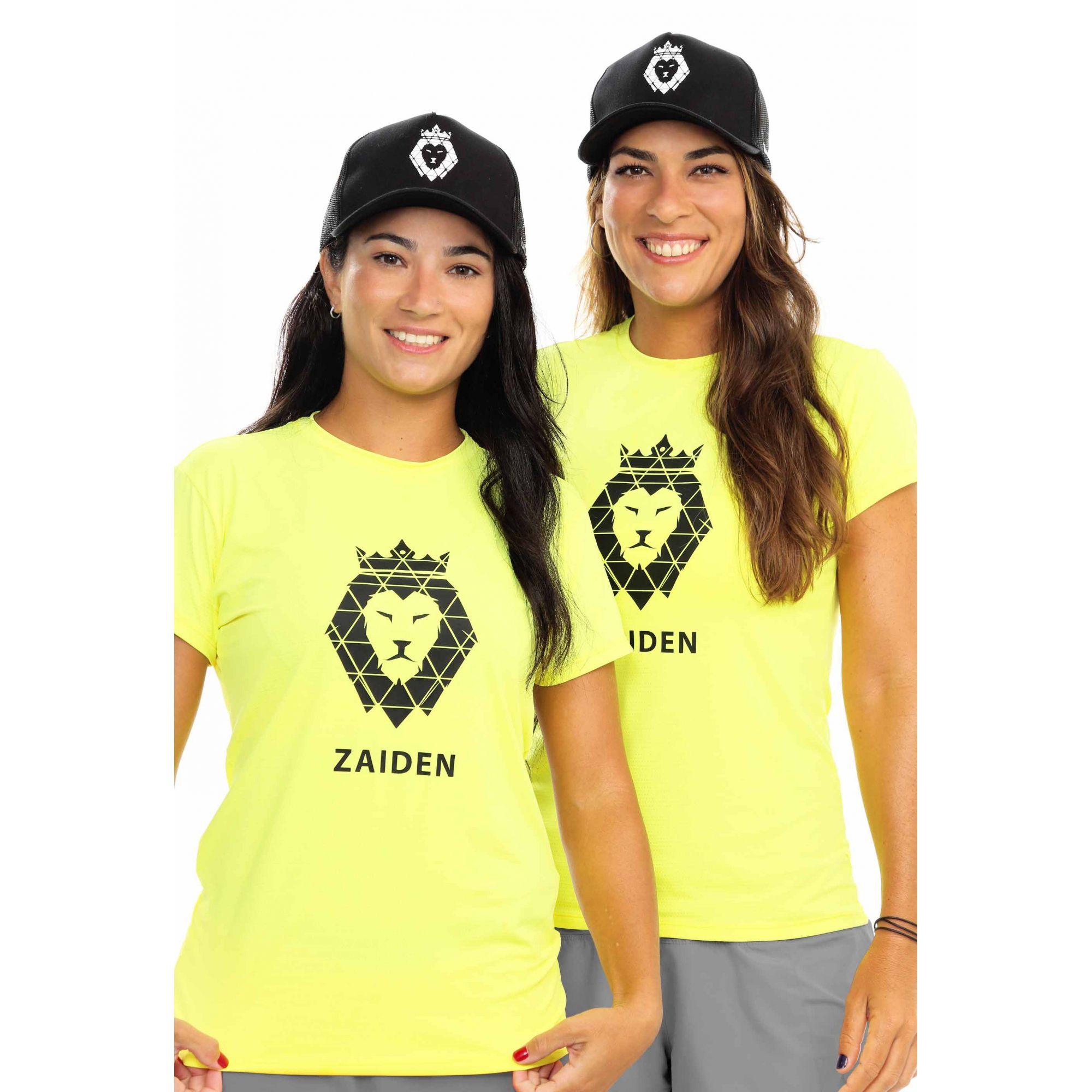 Camiseta Feminina Poliamida ZAIDEN Isla Leão Preto