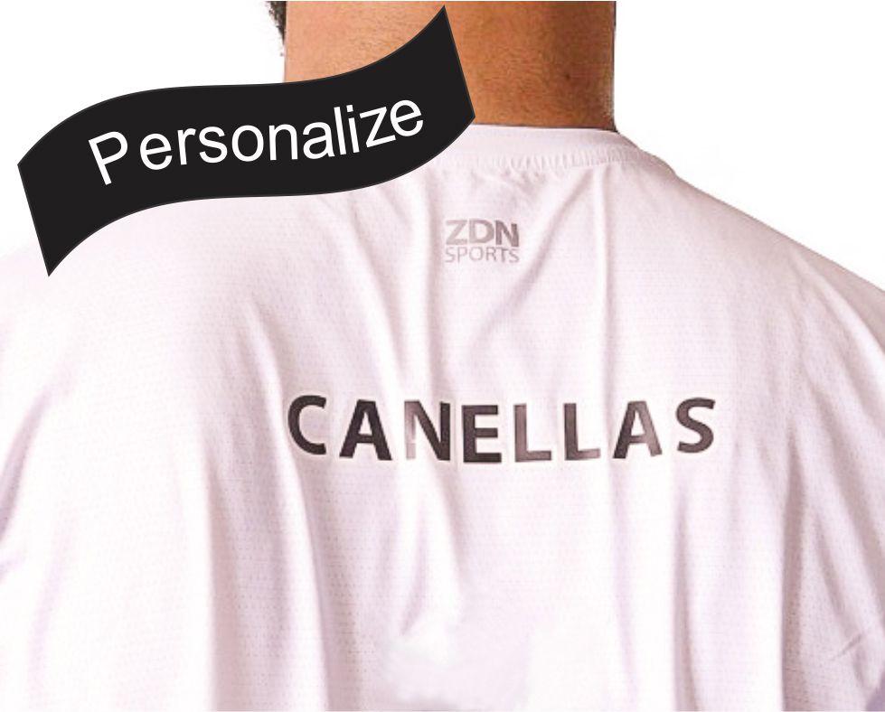 Camiseta Poliamida ZDN Sports Branca
