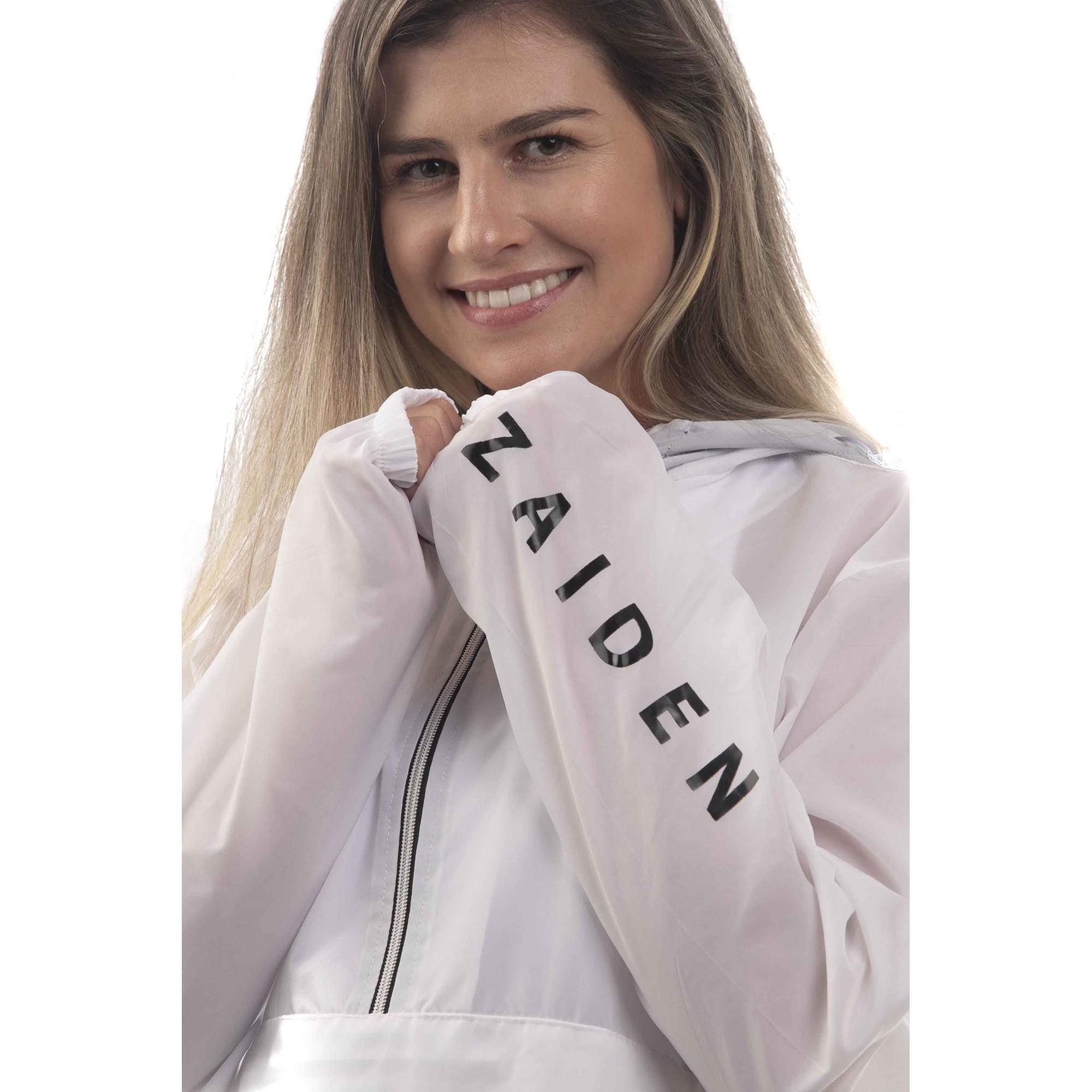 Corta Vento Feminino Windsports ZAIDEN Branco - Black Box