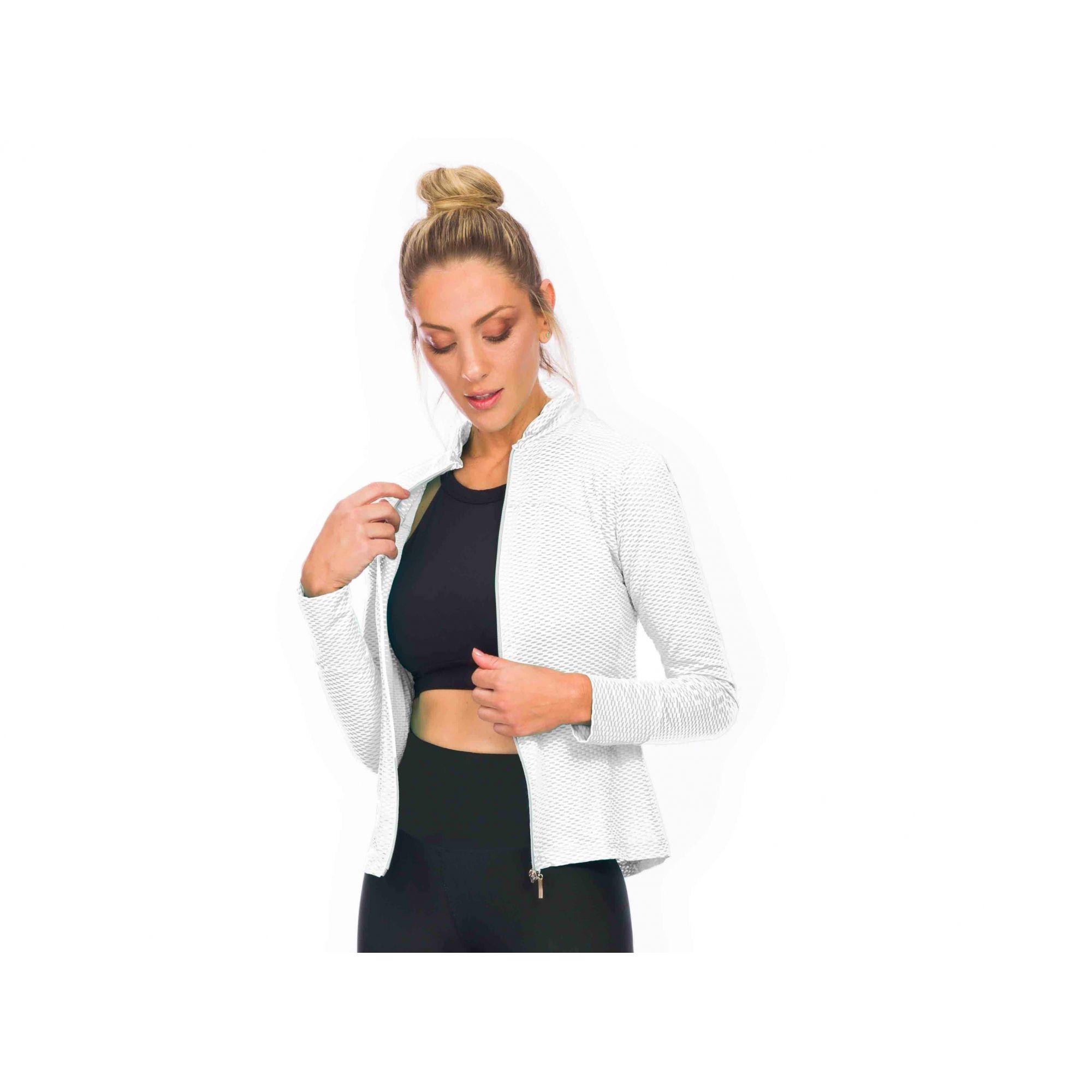 Jaqueta Branca Dry ZDN Sports
