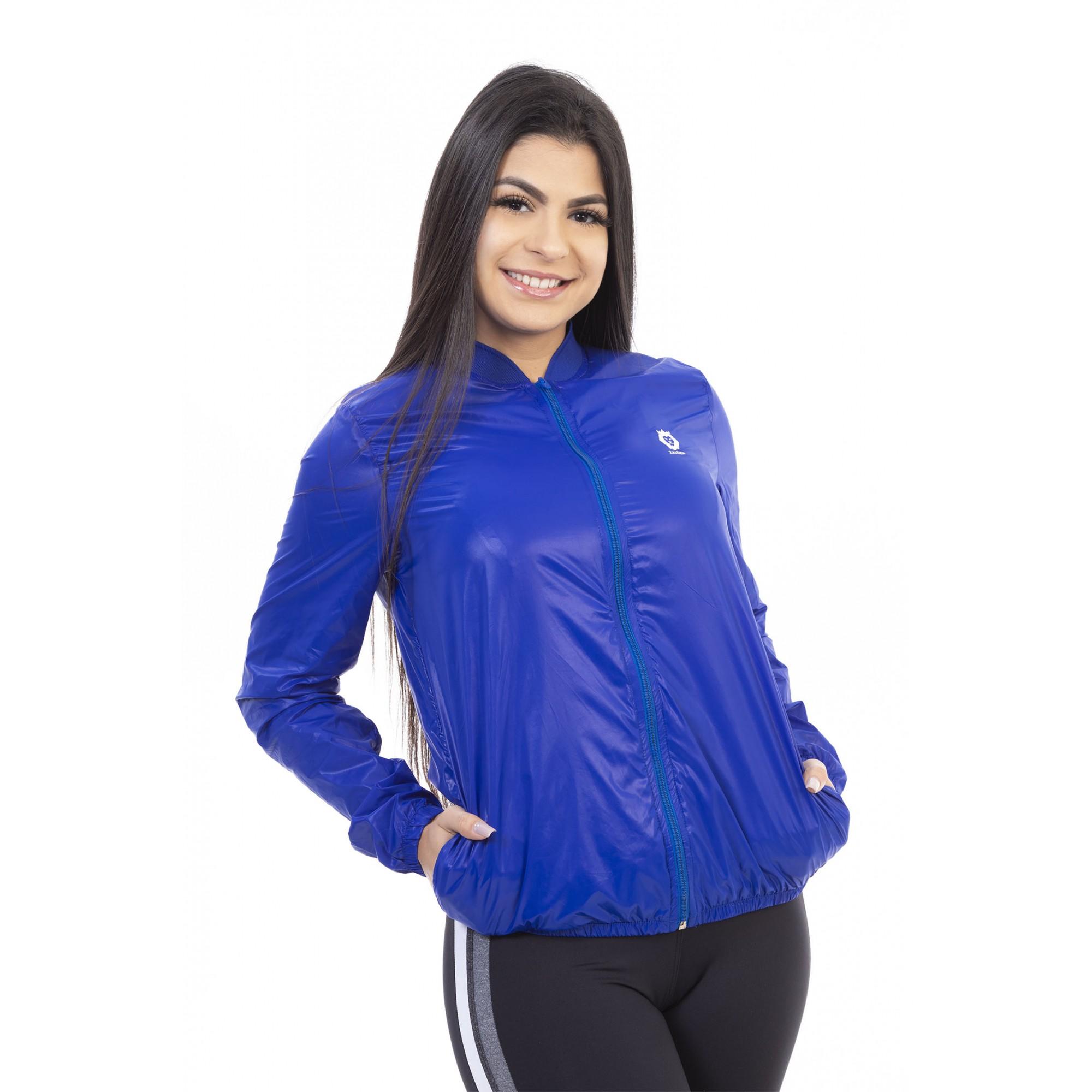 Jaqueta Corta Vento Style Zaiden Azul