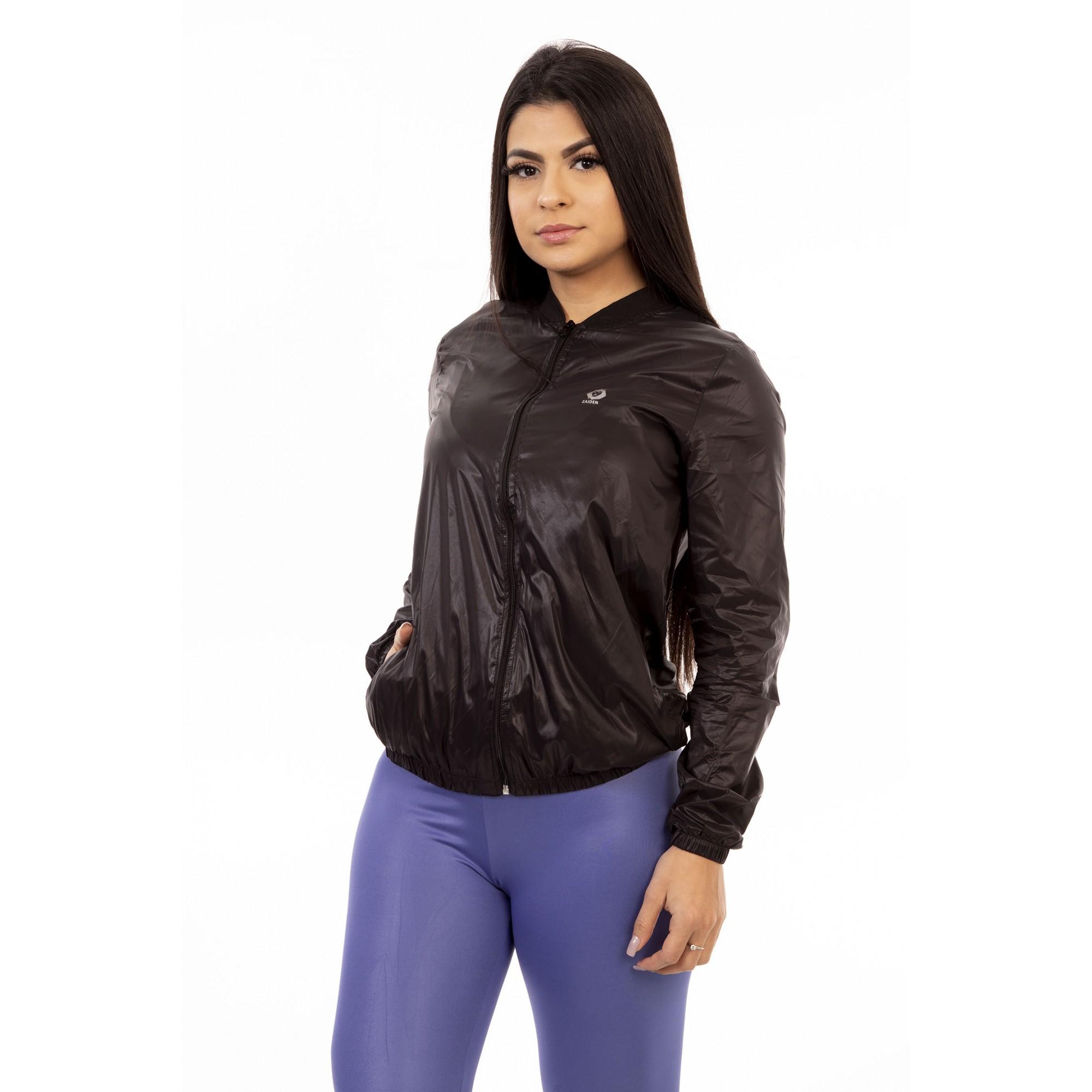 Jaqueta Corta Vento Style Zaiden Preto Silver