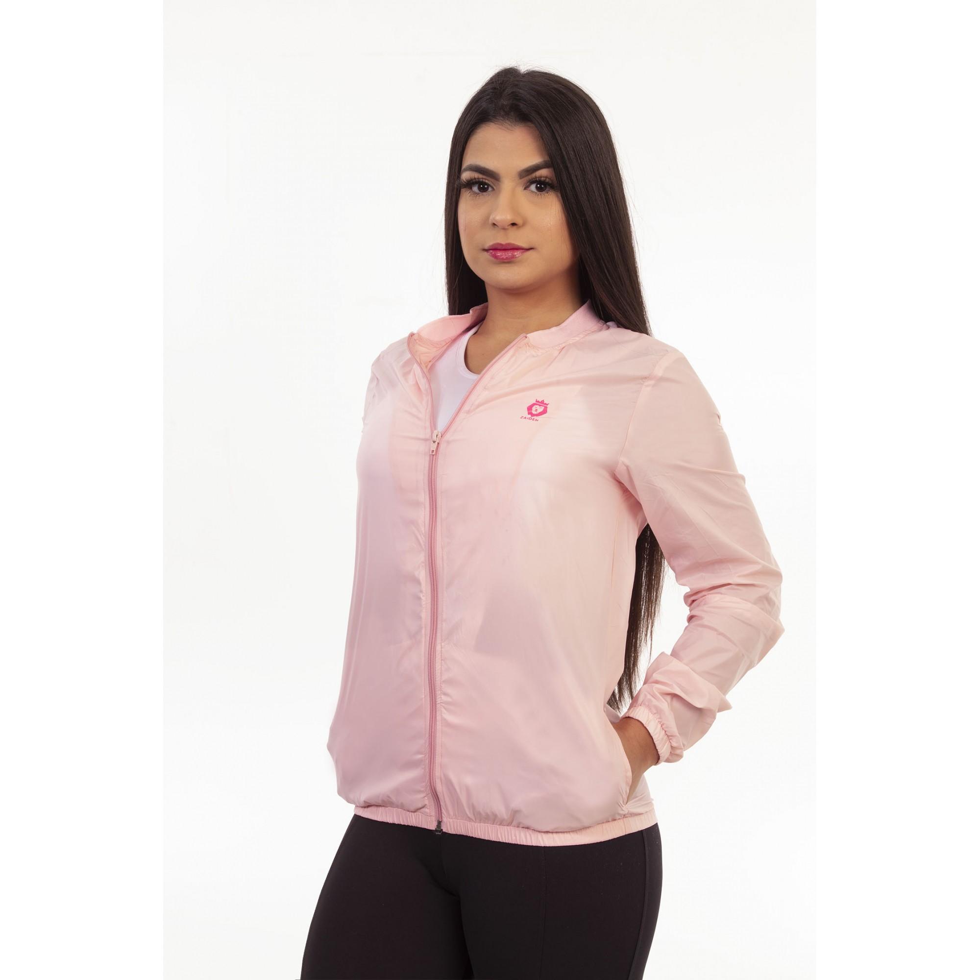 Jaqueta Corta Vento Style Zaiden Rosê