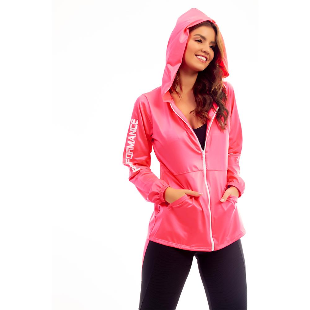 Jaqueta Glossy Pink