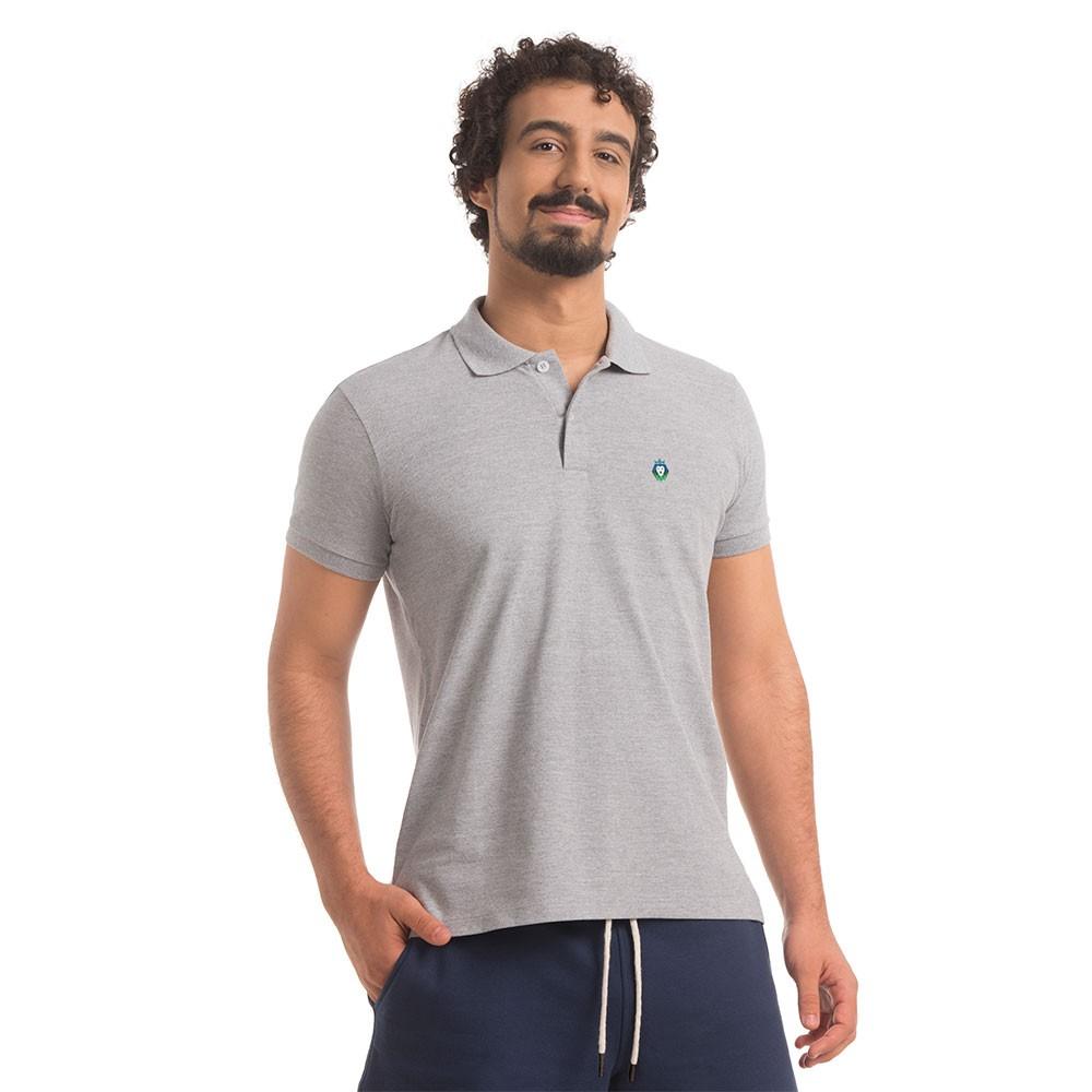 Polo Piquet Zaiden Style Mescla Masculina