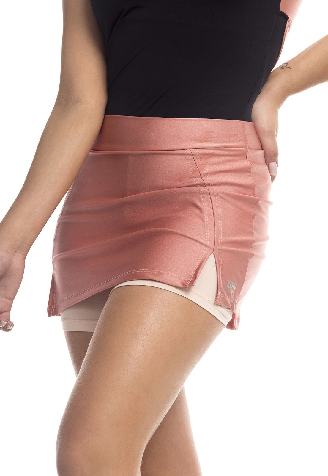 Short Saia Nude ZDN Sports