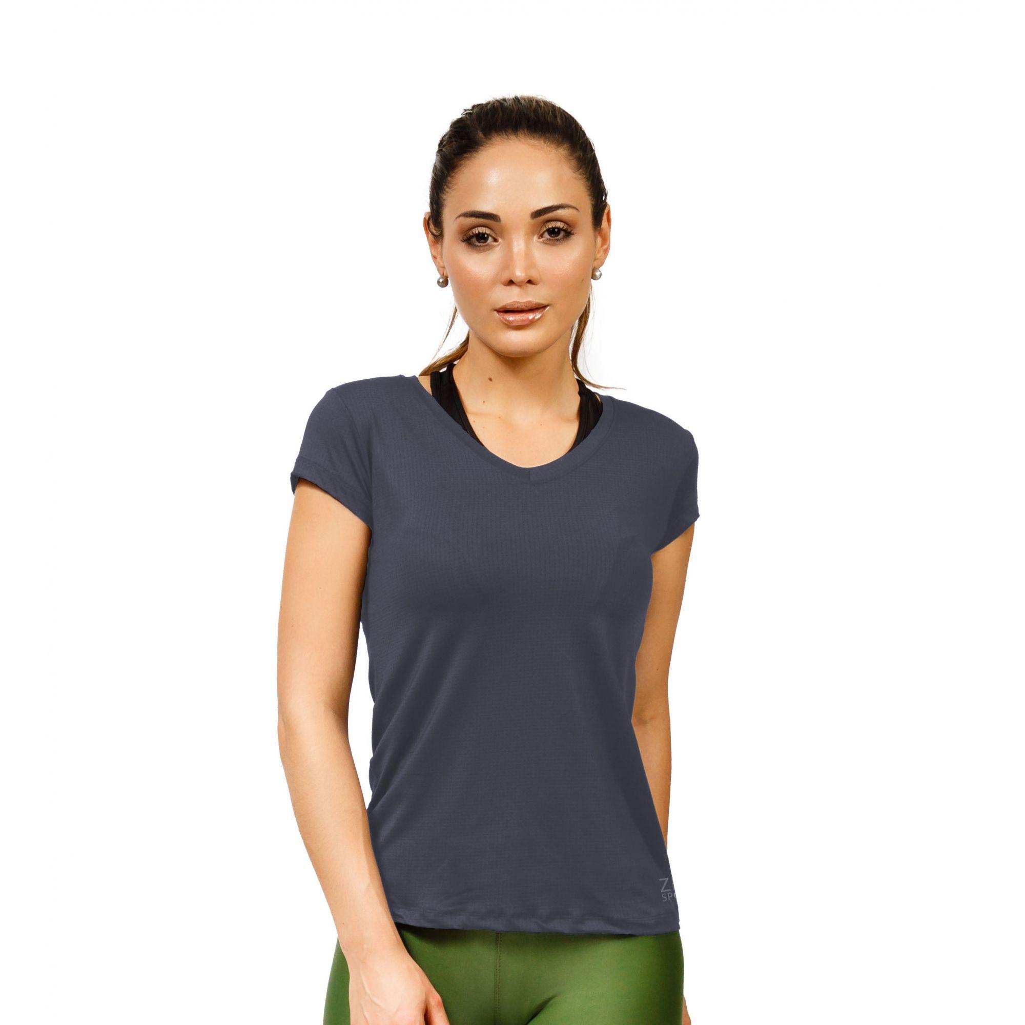 T-shirt Poliamida Feminina ZDN Sports