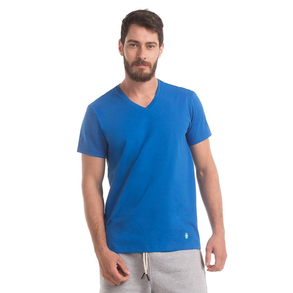 T-Shirt Zaiden Basic Azul Masculina