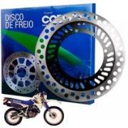 DISCO DE FREIO DIANTEIRO HONDA XLX 350 350R COBREQ ORIGINAL