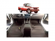 tapete super Luxo Automotivo Assoalho chevrolet D20 Simples