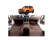 Forro Super Luxo Automotivo Assoalho Para Jeep Renegade 2015 a 2018