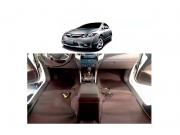 Forro Super Luxo Automotivo Assoalho Para New Civic 2007 a 2012