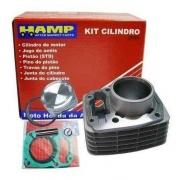 Kit Cilindro Motor Cg 150 Titan Fan Bros Original Honda Hamp