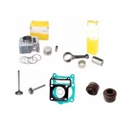 Kit Cilindro Motor Com Biela Ybr 125 Factor 125 Xtz 125
