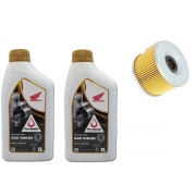 Kit Troca Oleo Genuíno Honda 10w30 Semissintético 2 LITROS + 01Filtro De Oleo HONDA Xre 300 Cb300