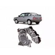 Tapete Auto para Assoalho em Verniz Liso Volkswagen Gol Antigo Quadrado Preto