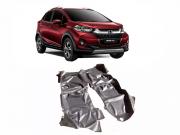 Tapete Carpete Assoalho Vinil Verniz Para Honda Wrv 2010 a 2018