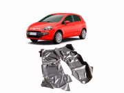 Tapete Carpete Assoalho Vinil Verniz Fiat Punto 2007 a 2018
