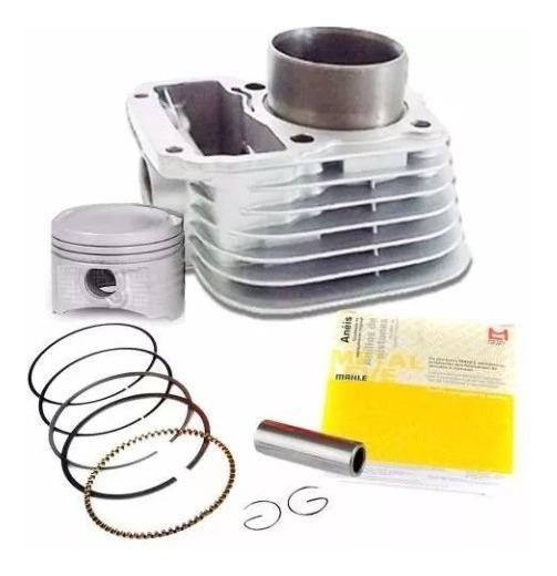 Kit Cilindro Motor Cg Titan 125 83/99 1999/ 00 01 Metal Leve