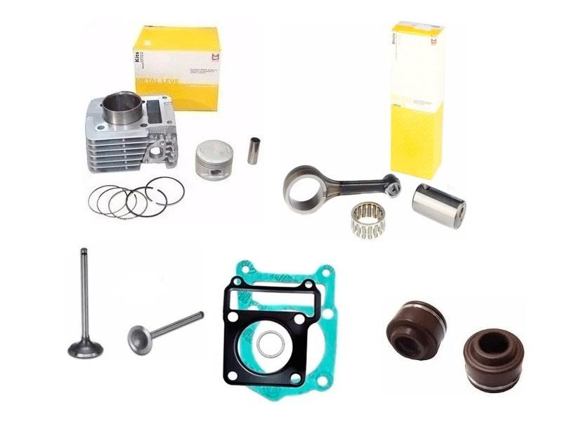 Cilindro Motor Metal Leve yamaha xtz 125 Ybr Factor 125 2012 + Biela