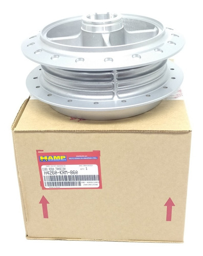 Cubo Roda Traseira Titan 150 Cg Fan Start160 Nissin Original