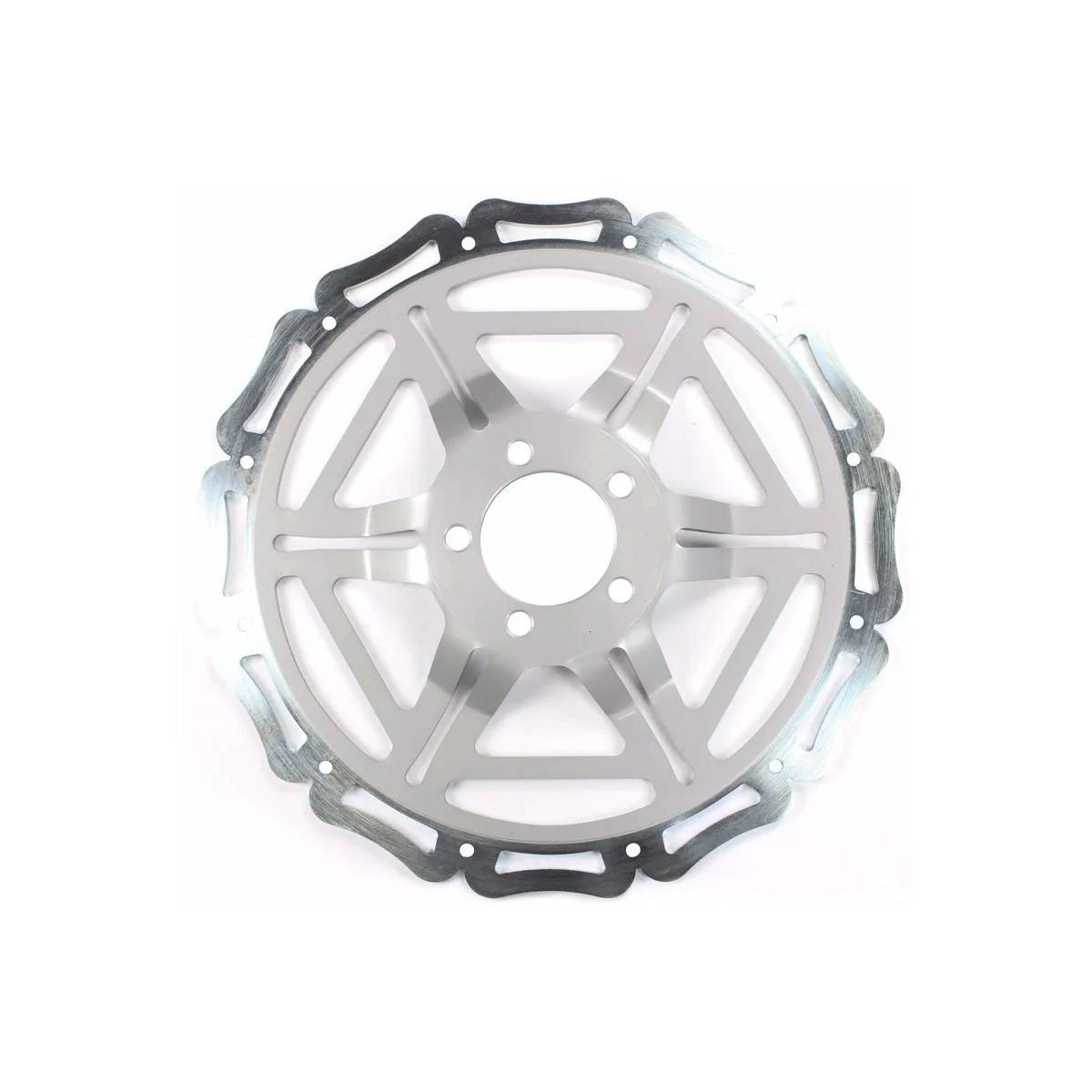 Discao 320 Mm Cg 150 Titan Ex 2009 A 2015 Com Suporte
